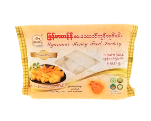 Picture of MYANMAR HONEY PRAWN ROLL 8'S/12'S 230G