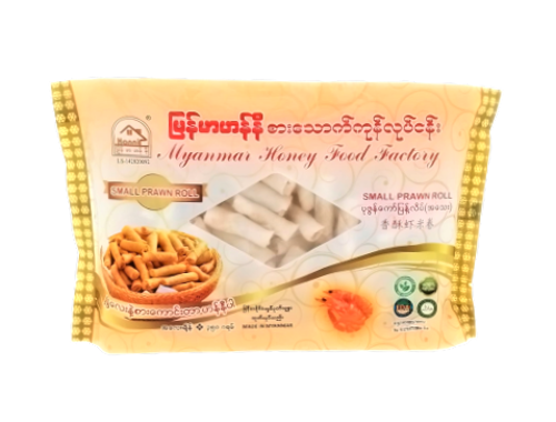 Picture of MYANMAR HONEY SMALL PRAWN ROLL 160`S/350G