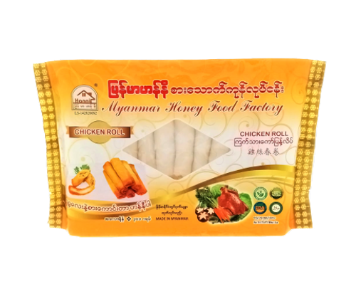 Picture of MYANMAR HONEY CHICKEN SPRING ROLL 14'S 300G
