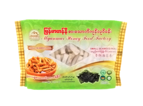 Picture of MYANMAR HONEY SMALL SEAWEED ROLL 160'S/350G