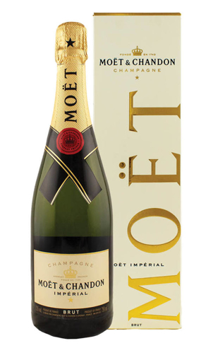 Picture of MOET & CHANDON IMPERIAL BRUT CHAMPAGNE 12%VOL/750ML