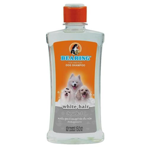 Picture of BEARING DOG SHAMPOO TICK & FLEA 300ML(WHITE HAIR)