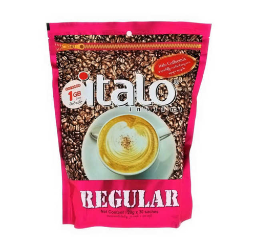 Picture of ITALO INSTANT REGULAR COFFEE MIX 30'Sx20G