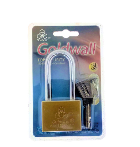 Picture of GOLDWALL Top Security Lock 45mm Long With 4 Keys