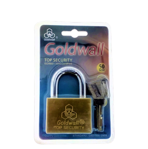 Picture of GOLDWALL Top Security Locks 50mm Short With 4 Keys