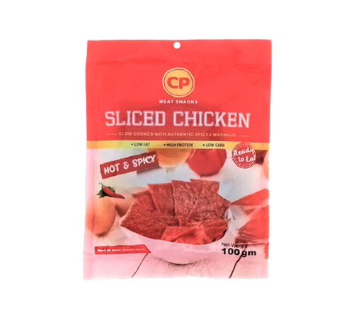 Picture of CP SLICED CHICKEN HOT & SPICY 100G