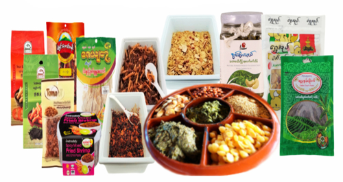 Picture for category Myanmar Traditional Salads & Foods