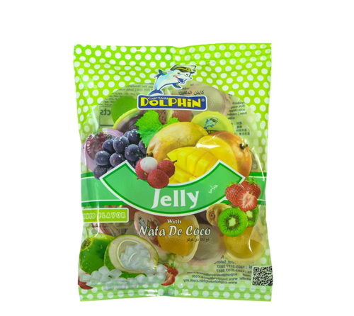 Picture of CAPITAL DOLPHINL JELLY WITH NATA DE COCO (60' S /960G)