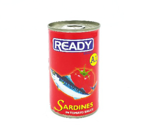 Picture of READY A1 SARDINES IN TOMATO SAUCE 150G/155G