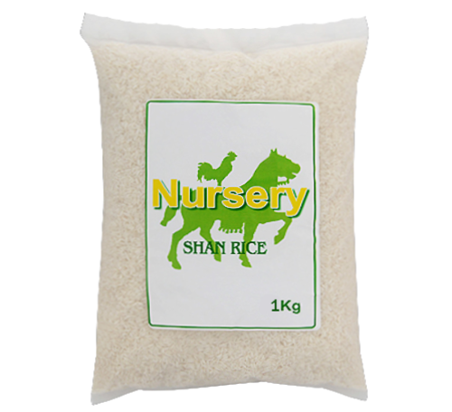 Picture of NURSERY SHAN RICE 1KG