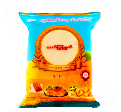 Picture of MYANMAR HONEY SPRING ROLL WRAPPERS SHEET 250G