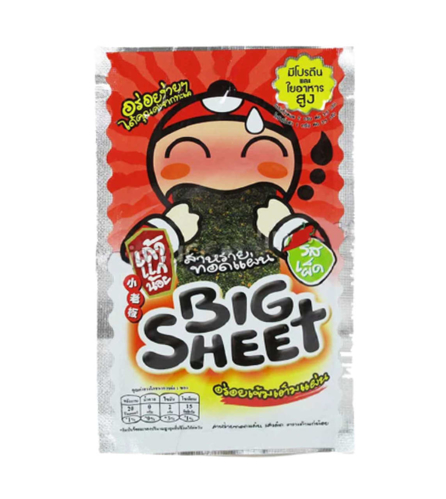 Picture of BIG SHEET CRISPY SEAWEED SPICY 4G/3.2G